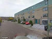 112 melding Brandweer naar Grafelijkheidsweg in Dordrecht