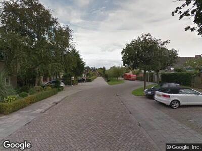 Ambulance naar Willem Barentszstraat in Oud-Beijerland