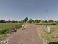 Brandweer naar Reeweg in Schiermonnikoog