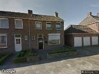Ambulance naar Roeloff van Dalemstraat in Dongen