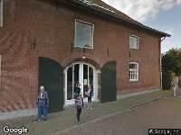 Ambulance naar Burgemeester van den Boschstraat in Amerongen