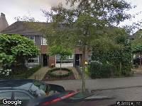 Ambulance naar Harrie Janssenstraat in Oisterwijk