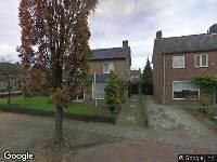 Ambulance naar Jonker Speelmanstraat in Heeswijk-Dinther
