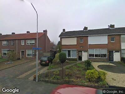 Ambulance naar De Hoge Wickstraat in Oosterhout