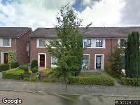 Ambulance naar Hertog Janstraat in Dongen