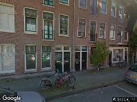 Ambulance naar Borgerstraat in Amsterdam