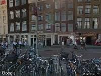 Ambulance naar Prins Hendrikkade in Amsterdam