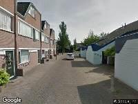 112 melding Ambulance naar Einthovendreef in Maassluis