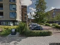 Brandweer naar Gombertstraat in Zwolle