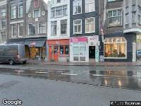 Ambulance naar Utrechtsestraat in Amsterdam