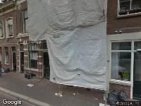 Ambulance naar Lange Smeestraat in Utrecht