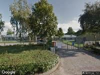 Brandweer naar Graham Bellstraat in Zwolle