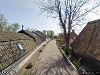 112 melding Brandweer naar Noordendijk in Dordrecht
