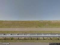 Traumahelikopter naar Afsluitdijk in Breezanddijk