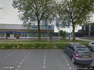 Ambulance naar Sportlaan in Strijen