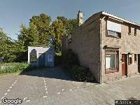 Brandweer naar Bilderdijkstraat in Tilburg