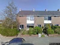 Ambulance naar Sloestraat in Den Helder