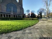 Ambulance naar Nieuwe Parklaan in 's-Gravenhage