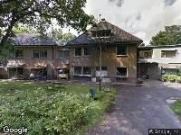 Brandweer naar Gerard Vethlaan in Nunspeet