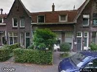 112 melding Brandweer naar Reeweg Oost in Dordrecht