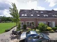 Brandweer naar Gentiaanweg in Zwolle
