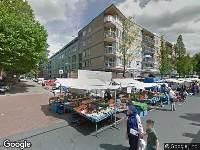 Ambulance naar Dapperstraat in Amsterdam