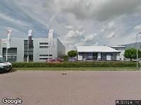 Brandweer naar Telfordstraat in Zwolle