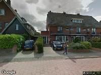 Ambulance naar Bergerweg in Alkmaar