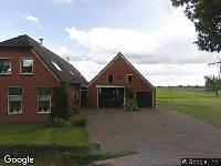 Brandweer naar Broek in Gieterveen