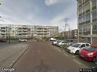 Ambulance naar Nierkerkestraat in Amsterdam