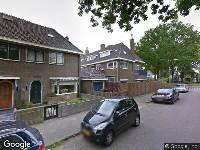 Brandweer naar Cornelis Houtmanstraat in Zwolle