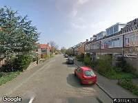 Brandweer naar Jekerstraat in Den Helder