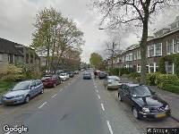 112 melding Ambulance naar Bankastraat in Dordrecht