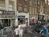 Ambulance naar Haarlemmerstraat in Amsterdam