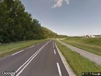 Brandweer naar Houtribweg in Lelystad