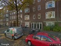 Brandweer naar Marathonweg in Amsterdam