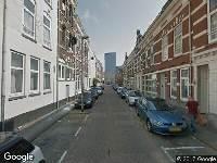 Ambulance naar Van der Schellingstraat in Rotterdam