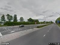 Brandweer naar Westenholterallee in Zwolle