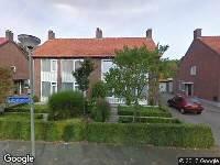 112 melding Brandweer naar Doornakkerlaan in Boxtel