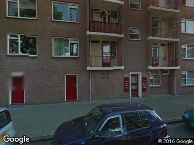 Ambulance naar Groetstraat in Amsterdam