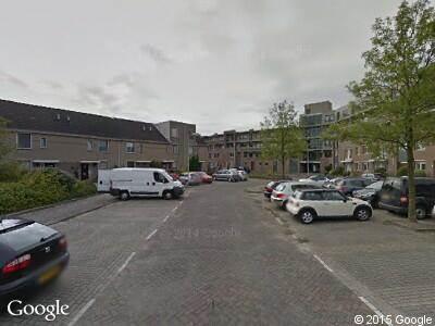 Ambulance naar Zeemanstraat in Ridderkerk
