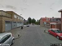 Brandweer naar Stakman Bossestraat in Den Helder