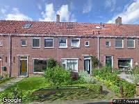 Brandweer naar Adriaan Pauwstraat in Zwolle