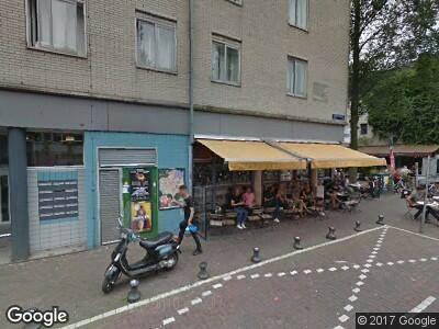 Ambulance naar Gerard Douplein in Amsterdam