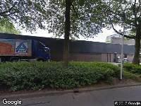 Ambulance naar Verdiplein in Tilburg