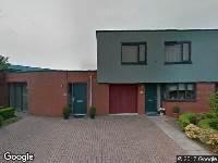 Ambulance naar Monseigneur Bekkersstraat in Arnhem