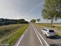Politie naar Serooskerkseweg in Serooskerke