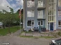 Brandweer naar Wouwstraat in Dordrecht