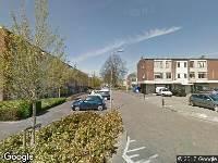 Ambulance naar Mr. Troelstrastraat in Ridderkerk