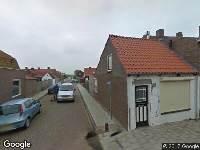 Ambulance naar Achterstraat in Sint Philipsland